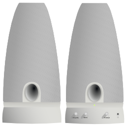Computer Speakers Icon PNG Format