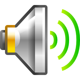 Audio Volume High Icon PNG Format