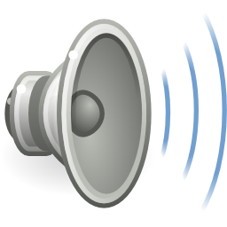 Audio Volume High Image PNG Format