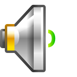 Audio Volume Low Icon PNG Format