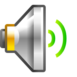 Audio Volume Medium Icon PNG Format