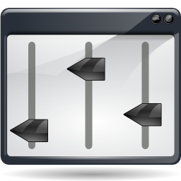 Graphic Equalizer Icon PNG Format