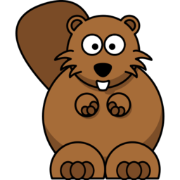Beaver Icon PNG Format