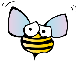 Bee Icon PNG Format
