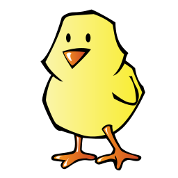 Baby Chick Icon PNG Format