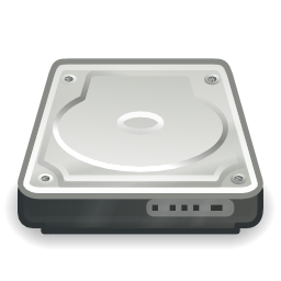 Hard Drive Image PNG Format