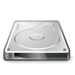 Hard Disk Icon Image PNG Format