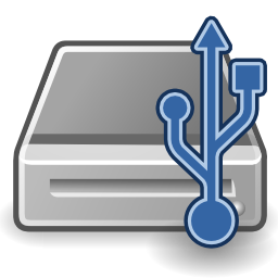 USB Hard Drive Icon Image PNG Format