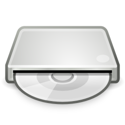 External DVD Drive Icon Image PNG Format