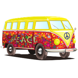 VW Bus Clipart Image PNG Format