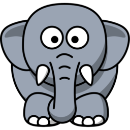 Elephant Illustration Image PNG Format