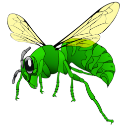 Hornet Icon Illustration PNG Format