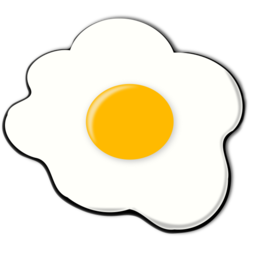 Fried Egg Graphic Image Download