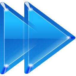 Blue Right Arrow Icon Download
