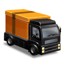 Delivery Truck Clip Art Image PNG Format