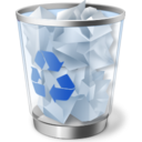 Trash Can Icon Image PNG Format