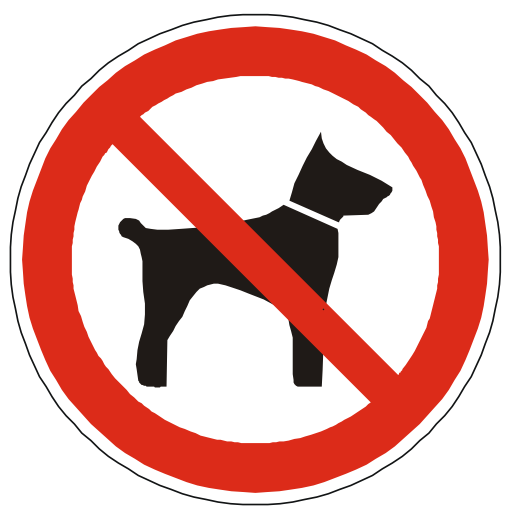 No Pets Allowed Sign Image PNG Format