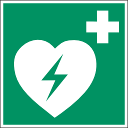 Green Defibrillator Safety Sign Download