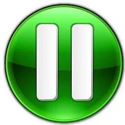 Green Resume Button PNG Format