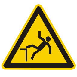 Danger of Collapse Hazard Sign Download