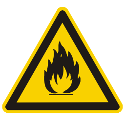 Caution Open Flame Sign Download
