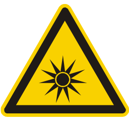 Optical Light Hazard Sign Download