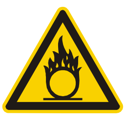 Oxidizer Hazard Sign Download