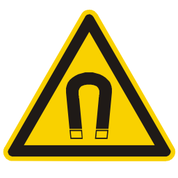 Strong Magnetic Field Hazard Sign Download