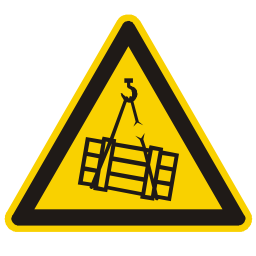 Suspended Load Hazard Sign Download