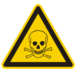 Toxic Materials Hazard Sign Download