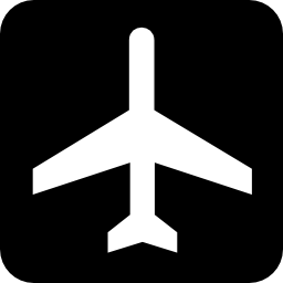 Airport Sign Icon PNG Format