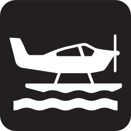 Seaplane Pictogram PNG Format