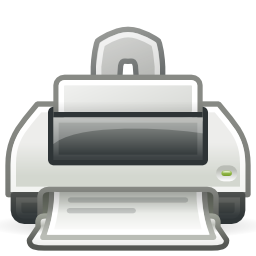 Printer Icon Download 3 PNG Format
