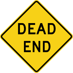 Dead End Road Sign Image PNG Format