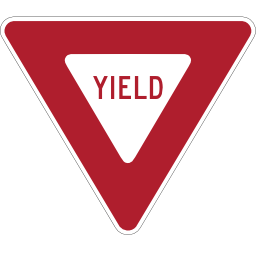 Yield Sign Image PNG Format